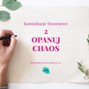Konsultacje Biznesowe – Opanuj Chaos